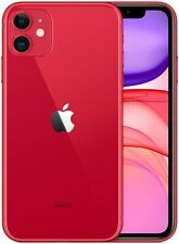 Apple IPHONE 11 128GB Italia Rouge LTE Neuf Original Smartphone Ios 13