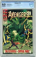 Avengers #45 - 7.5 CBCS (like CGC)  - Super-Adaptoid - Exceptional white pages!