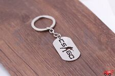 CSGO Keychain Stainless Steel Counter Strike CS GO Metal Key Chains  ​Free Ship