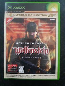 Return To Castle Wolfenstein Tides Of War Japanese Microsoft Xbox