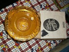 VINTAGE BABY OR CHILDS TIARA MOTHER GOOSE NURSERY RHYME AMBER CEREAL BOWL W/BOX