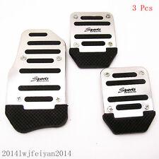 Nonslip Sports Manual Car Clutch Brake Accelerator Pedal Foot Treadle For Honda