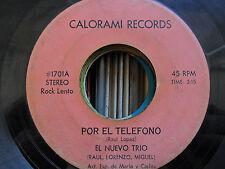 Latin Calorami 45 El Nuevo Trio - Por El Telefono / Egoismo VG-