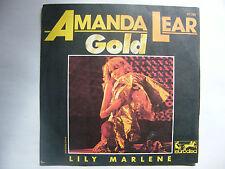 "SP AMANDA LEAR ""Gold"" Eurodisc – 100101, Eurodisc – 911 200 France (1978)"