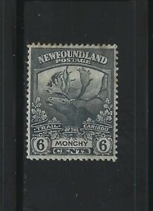 NEWFOUNDLAND - #120 - 6c TRAIL OF THE CARIBOU USED STAMP MONCHY
