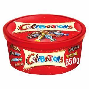 Celebrations Chocolates 650g Large Tub Perfect Gift