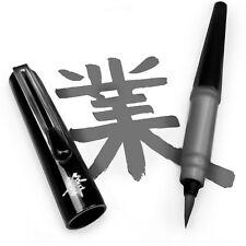 Pentel Refillable Pocket Brush Pen-avec 2 Gris Cartouches d'encre noir Canon