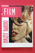 BRIGITTE BARDOT ON COVER AND INSIDE 1965 UNIQUE  SPECIAL EXYU MAGAZINE