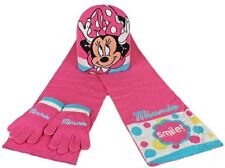 SET 3 PEZZI SCIARPA GUANTI CAPPELLO MINNIE DISNEY dca981aaed51
