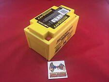 Motobatt AGM Battery For Honda Motorcycle VT600C,CD Shadow Deluxe 600 04-07
