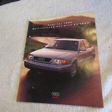 Audi 1996 Car Sales Brochure Nos