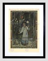 BILIBIN ILLUSTRATION FAIRY TALE VASILISA BEAUTY 1900 FRAMED PRINT B12X416