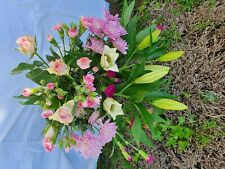 fresh flower bouquet with beautiful lillys