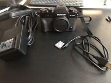 Fujifilm X Series X-T10 16.3MP Digital Camera - Black (Body Only)