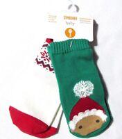 Gymboree Baby Socks Christmas Fair Isle Red Green 2 Pair Ho Ho Shop 6 12 M