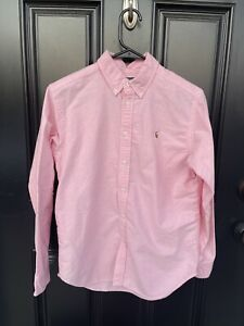 Polo Ralph Lauren Youth 18 Pink long sleeve