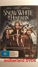 Snow White & The Huntsman [ DVD ] Region 4, LIKE NEW, FREE Next Day Post fromNSW