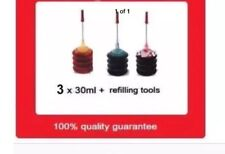 A set of refill kits for Canon CL-511 (CL511) colour  ink cartridges MP240 MP495
