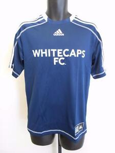 NEW MLS Vancouver Whitecaps Adult Mens Sizes S-M-L-XL Adidas Climalite Jersey