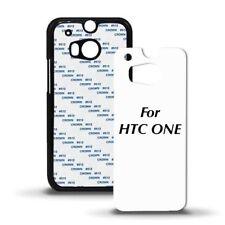5x Blank HTC ONE Cases for Sublimation Plastic Black