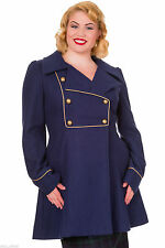 Knee Length Wool Double Breasted Coats & Jackets for Women