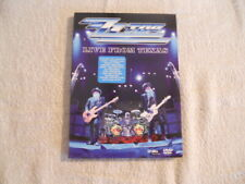 """ZZ Top """"Live from Texas"""" 2008 DVD Eagle Vision 122 Min. $"""