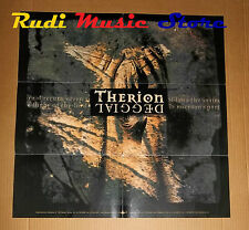 POSTER metal PROMO THERION DEGGIAL 59 X 59 cm NO cd dvd vhs lp live mc