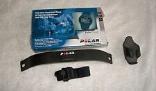 POLAR WATCH TRANSMITTER with ELASTIC STRAP AND FREE SMALL PHONE HOLDER!!