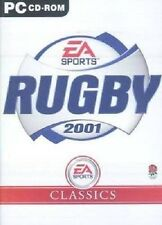 Rugby 2001 EA Sports Classics (PC CD Game) New & Factory Sealed, FREE US SHIP