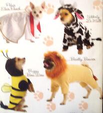 Simplicity 2839 OOP DOG PET ELVIS LION BEE COW Costume Pattern New