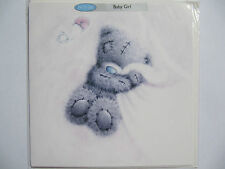 ME TO YOU TATTY TED STUNNING SOFTLY DRAWN NEW BABY GIRL GREETING CARD