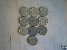 lot de 10 pieces 50 cts morlon bronze alu