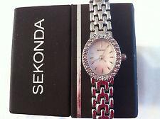 Sekonda Donna Crystal Set Watch Rrp £ 49.95