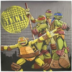 Teenage Mutant Ninja Turtles Cross Bathroom Shower Fabric Shower Curtain 72 x 72