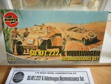 Modelkit Airfix Sd. Kfz. 222 & Kubelwagen Reconnaissance Set on 1:76 in Box