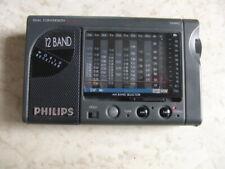 Philips AE 3405 Weltempfänger Reiseradio 12 Band World Receiver, ohne Deckel