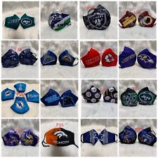 1 NFL Football Teams Adult Face Mask *** New Styles Added***