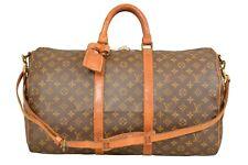 Louis Vuitton Monogram Keepall 45 Bandouliere Travel Bag / Strap M41418 - G00725