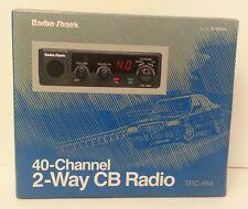 Radio Shack 40 Channel 2 Way CB Radio With Mic TRC-464 Talk