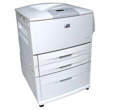 HP LaserJet 9050N Laser Printer 11X17 wide format 9050 w/2000-sheet feeder