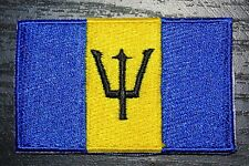 BARBADOS Country Flag Embroidered PATCH Badge *NEW*