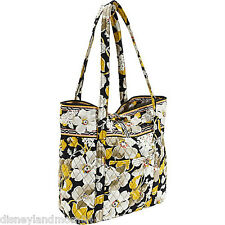 "VERA BRADLEY~AUTHENTIC~""VERA"" EXTRA LARGE TOTE BAG~DOGWOOD~NEW WITH TAG!"