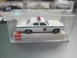 BUSCH - 1/87 - Dodge Monaco - Park Ranger Texas - Mini Car - 2a3