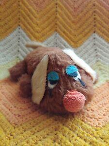 Vintage 1973 Sad Sack Dog Russ Berrie Beanie 7 1/2 Inch Plush Puppy