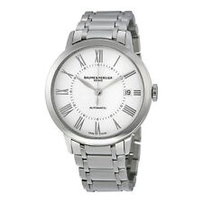 Baume and Mercier Classima  Automatic White Sunray Dial Stainless Steel Ladies