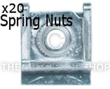 Double Spring Nut For Head Cap Screw VW Golf Range/Jetta/Kombi/LT 1140vw 20PK