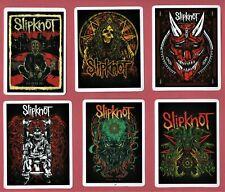 SLIPKNOT STICKERS HEAVY Thrash SPEED sludge METAL 90s 00s Alternative NU Groove