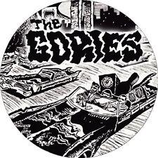 CHAPA/BADGE THE GORIES . pin button cramps reigning sound oblivians garage trash