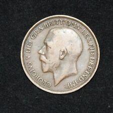 UK One Penny 1917 George V KM# 810 Sp# 4051-3