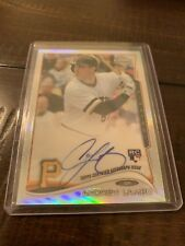 Andrew Lambo Autograph 2014 Topps Chrome RC Pittsburgh #/499